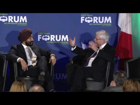 One-on-One: Navdeep Bains and John Manley on Innovation  |  Canada Growth Summit