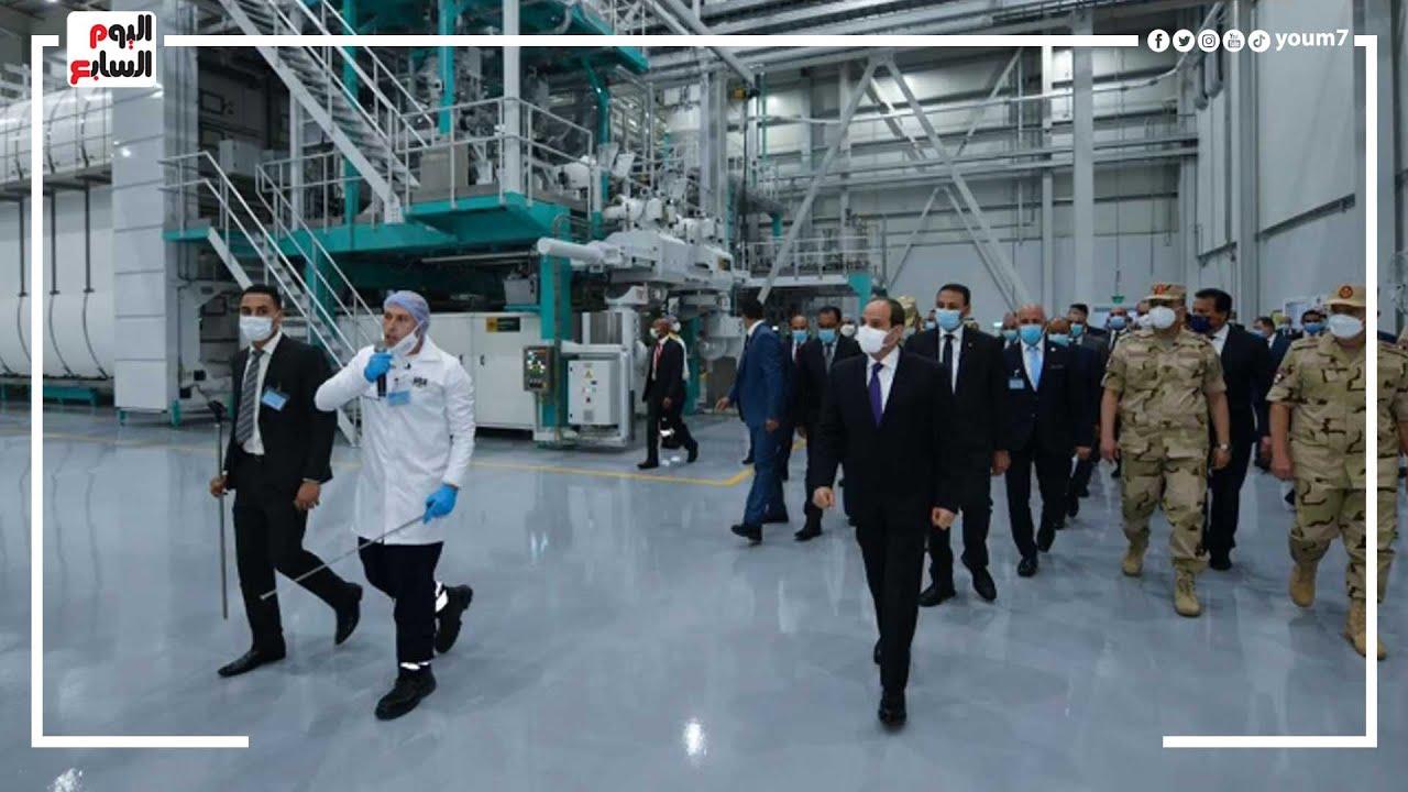 إضافة حقيقة لقدرات الدولة.. مدينة سايلو فودز الصناعية.. تضم 10 مصانع بطاقة إنتاجية 470 ألف طن  - 23:54-2021 / 8 / 3