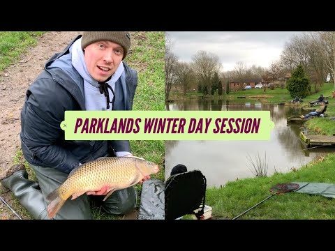 Carp Fishing Winter Day Session At Parklands, Northallerton - January 2020