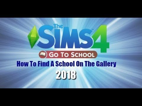 The Sims 4 Go To School How To Find A School On The Gallery