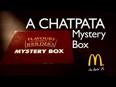 India Food Network Unboxing McDonald's Mystery Box  – A Chatpata Surprise