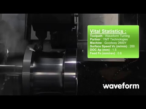 Waveform Turning with YMT Partner | Edgecam