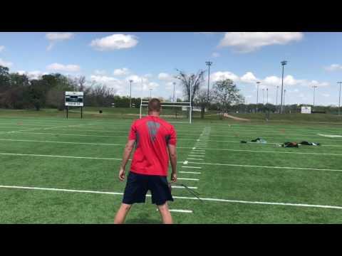 Zac Crosley - Field Goal Workout