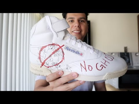YOU MUST SEE THIS Reebok x Stranger Things x BAIT x Ghostbusters SHOE !!!!