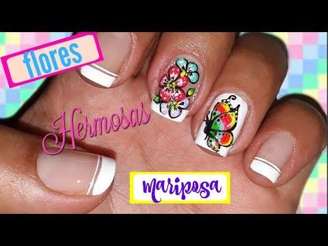 Decoraci n mariposa y flores hechas con punz n youtube - Decoracion con mariposas ...