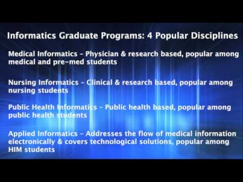 The Student's Guide to Obtaining A Masters In Health Informatics
