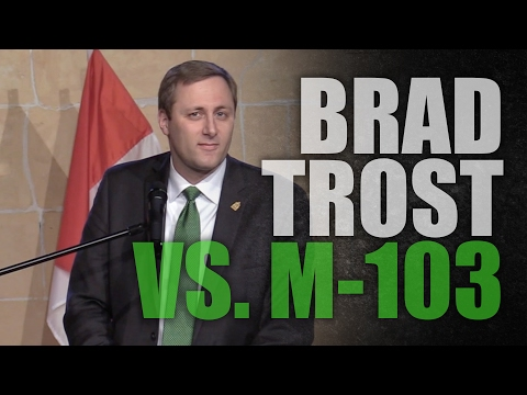 """Brad Trost: Fighting """"thought police in Ottawa"""""""
