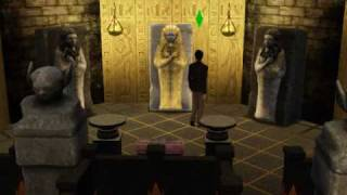 Kill Mummy in Sims 3