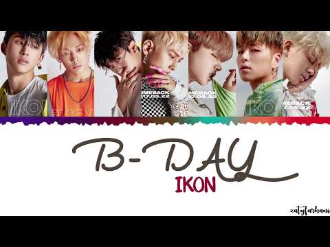 iKON (아이콘) - B-Day (벌떼) Lyrics [Color Coded_Han_Rom_Eng]