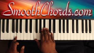 The Gift (Eb) - Donald Lawrence - Piano Tutorial