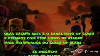 Ataque mais idiota do clash of clans