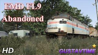 EMD FL9 AMTRAK Abandoned