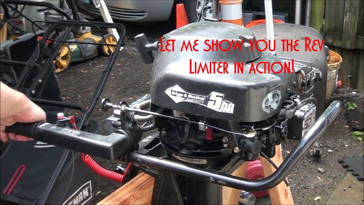 HOW TO FIX a Rare BRIGGS and STRATTON OUTBOARD BOAT Motor