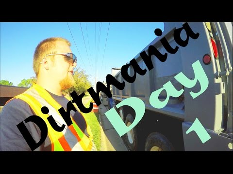 My First Day In a Dump Truck Am I free? 4K