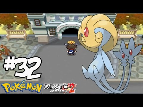 Pokemon White 2 #32 จับ ยูคุซี่ โปเกม่อนในตำนาน ( Uxie )