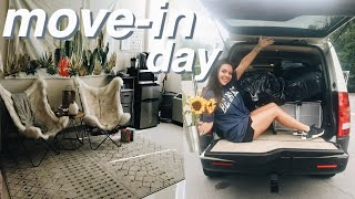 FRESHMAN MOVE-IN DAY VLOG + tips and tricks