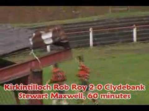 Kirkintilloch Rob Roy v Clydebank