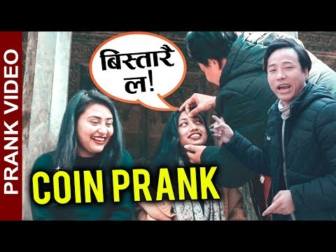 Coin Prank on Street || Alish Rai New epic nepali prank video 2019 || funny prank video
