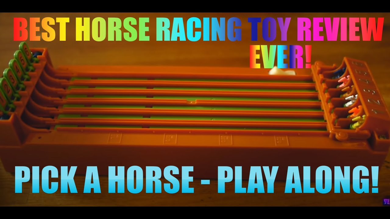 Hacked Racing Toys : Horse race derby toy complete unboxing full
