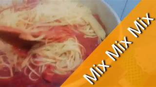COOK LIKE A CHEF |  EASY HOMEMADE SPAGHETTI RECIPE | PASTA AND SAUCE | FAMILY MEAL | ALL OCCASSIONS