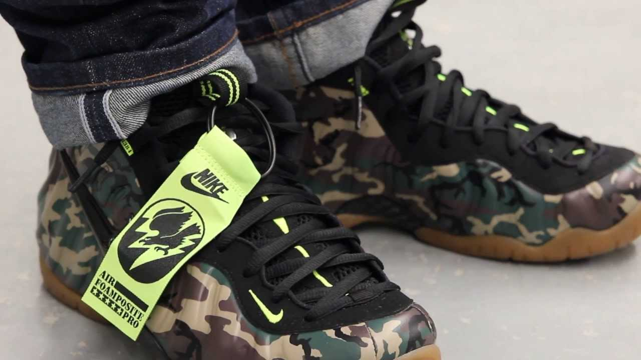 f9876599e7479 ... Army Camo Forest Black For Sale Online Nike Air Foamposite Pro PRM LE .