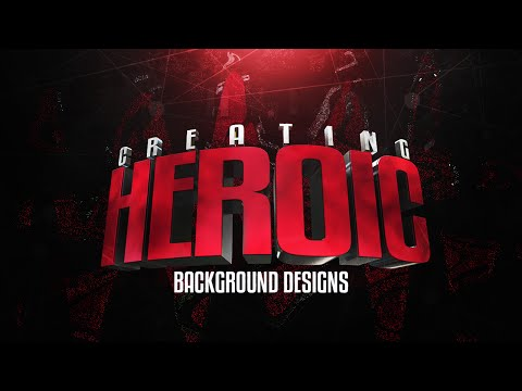 Photoshop/Cinema4D Tutorial: Creating Heroic 3D Banner Designs
