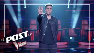 Xuso Jones repasa el 'Top 5' de La Final de La Voz | El Post de La Voz