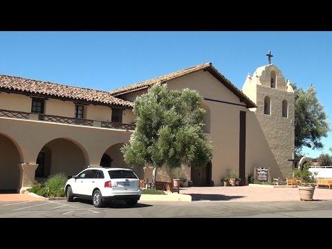 Santa Ines Mission-California Mission in a Danish Town-Solvang, California