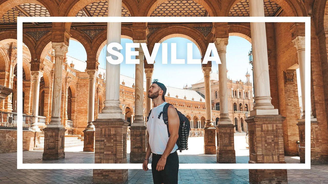SEVILLA SIN TURISTAS. La ciudad más bonita de España 4K | enriquealex