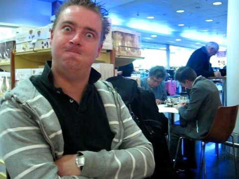 REDNEX ''BEHIND THE SCENES''- ON TOUR FUNNIES - DUBLIN AIRPORT COFFEE BREAK:) APRIL 2009