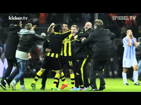 BVB vs Malaga, 9.4.2013, Radio Commentator going crazy after the 3rd goal from BVB