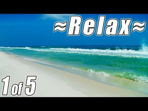 #1 Relaxing FLORIDA BEACHES w/ Ocean Sounds Panama City, Destin, Clearwater for studying study to HD