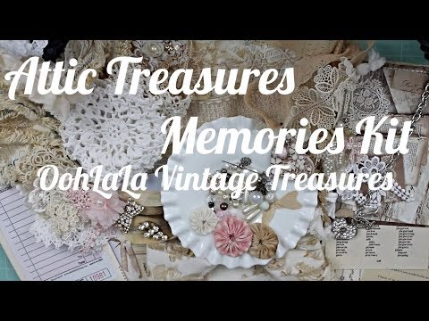 Attic Treasures Memories Kit | OohLaLa Vintage Treasures