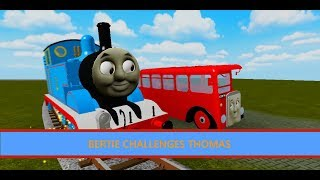 Bertie Challenges Thomas / Three Cheers for Thomas / Roblox Clip Remake