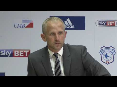 TROLLOPE CARDIFF CITY v QPR REACTION
