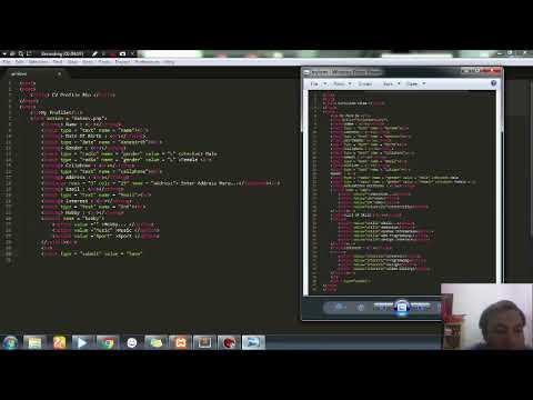 Tutorial Membuat CV Dengan HTML Dan PHP + Database MySQL (Insert)