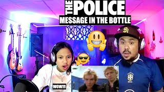 THE POLICE MESSAGE IN THE BOTTLE (DAUGHTER REACT)
