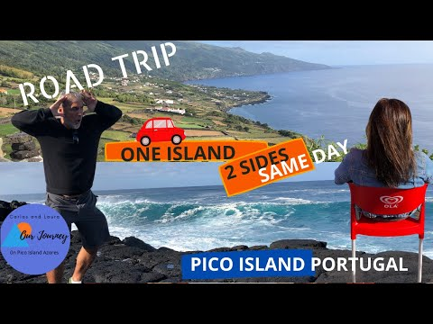 Portugal Road Trip - Pico Island Azores -One island/ 2 sides/ Same day  -  Village life - Episode 12