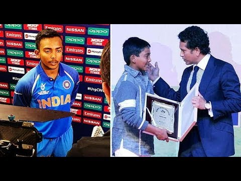 Prithvi Shaw Is An Indian Cricketer Who Plays For Middle Income Group Cricket Club In Mumbai