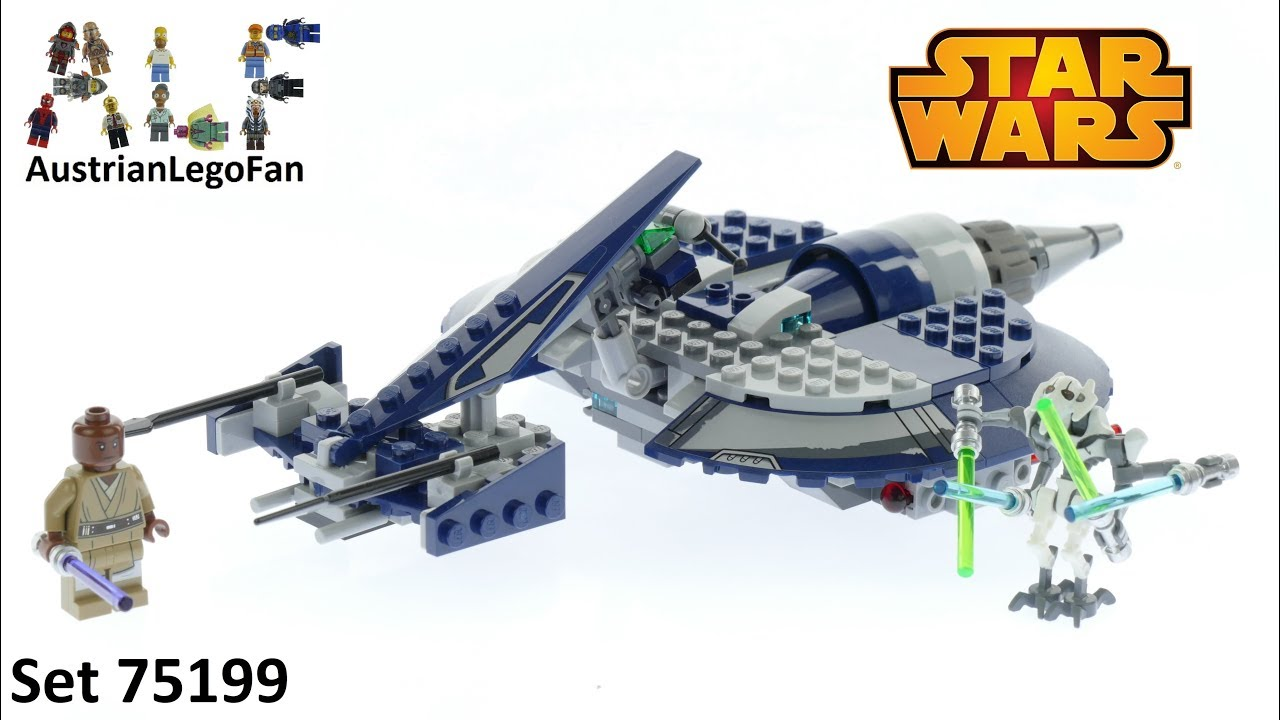 Lego Star Wars 75199 General Grievous Combat Speeder ...