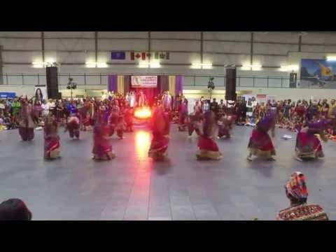 Straight Otta Gujarat Performance during AGA Garba 2016