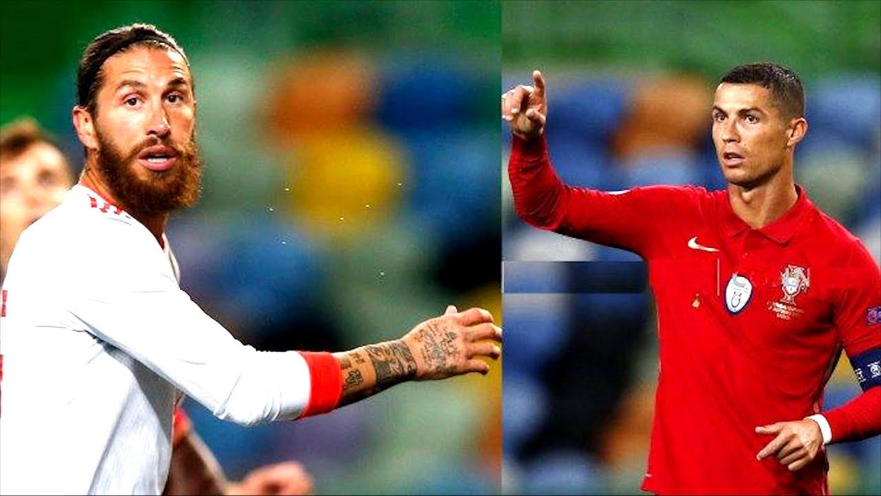 Роналду и Рамос НЕ ОБЩАЛИСЬ 2 ГОДА, и вот ПОЧЕМУ! Португалия - Испания. Лучшие футбольные видео MyTu