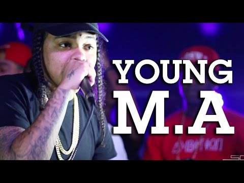 Young M.A Performs OOOUUU @ Webster Hall