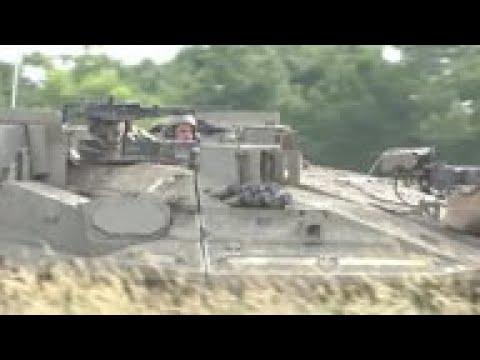 Israeli Military Simulates War With Hezbollah