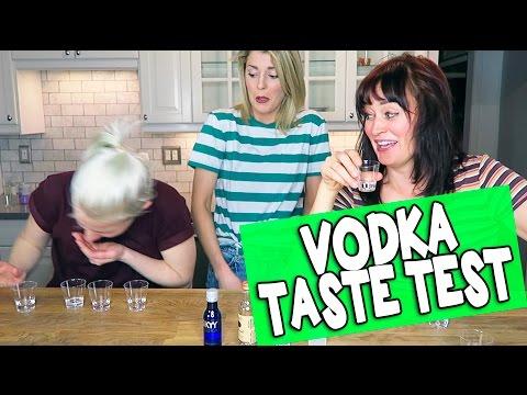 VODKA TASTE TEST // Grace Helbig