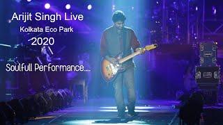 Ogo maya vora chand ar ogo mayabi raat | Arijit singh Live At kolkata ECO Park 2020 | Lens Kraft