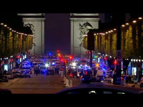 Tirs sur les Champs-Elysées: le déroulé des événements