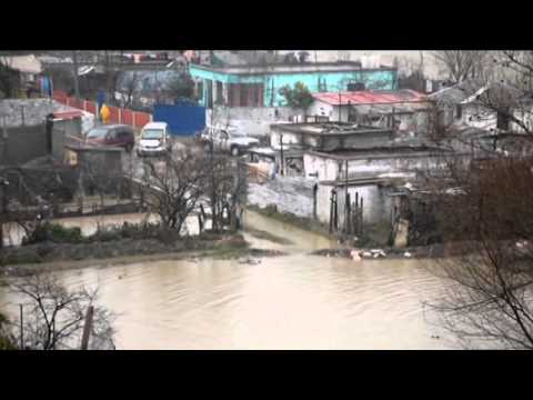 Flood in Albania