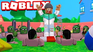 ESCAPE THE ZOMBIE POOL OBBY in Roblox!