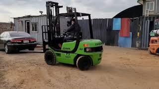 삼성 FX3톤 하이마스타 올통타이어 디젤지게차